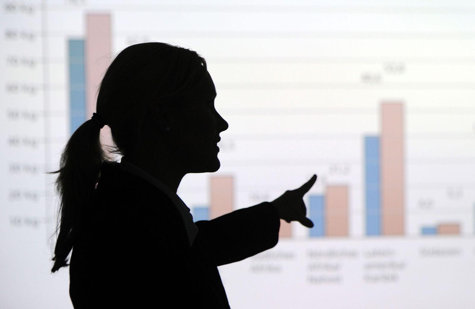 Frauen/ Chefposten/ Führungspositionen