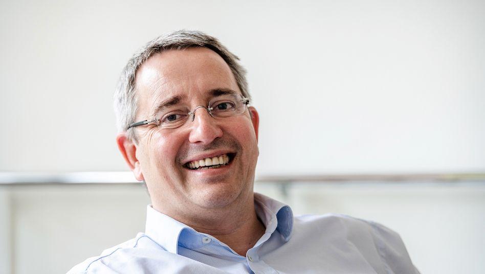 Sieben Tage die Woche: Hakle-Chef Volker Jung