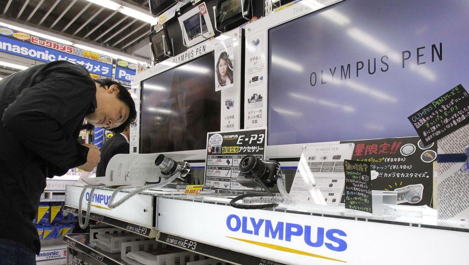 Kamerahersteller Olympus: Hinweise auf Verbindungen zur Mafia