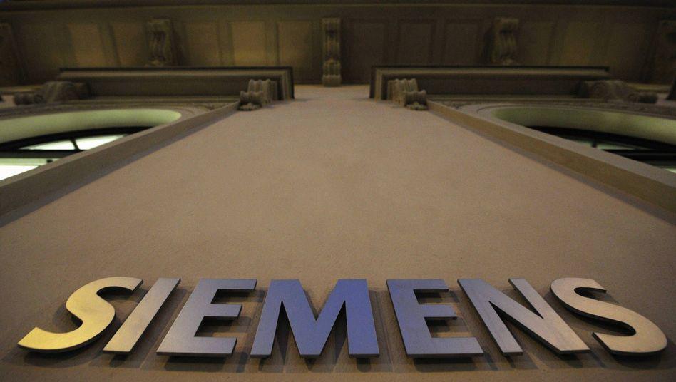 Hoch hinaus: Siemens wächst schneller als erwartet