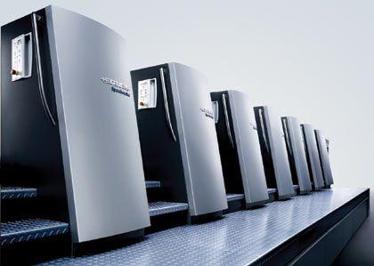Speedmaster XL 105: Bogenoffsetdruckmaschine von Heideldruck,Designpreis in Silber