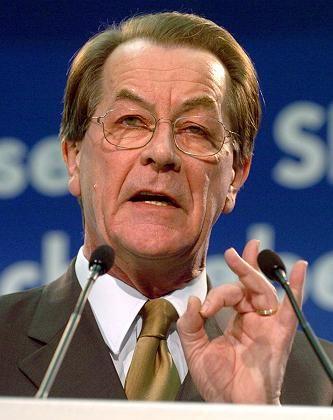 Kritik am angeblichen Machtmißbrauch des Kapitals: SPD-Chef Franz Müntefering