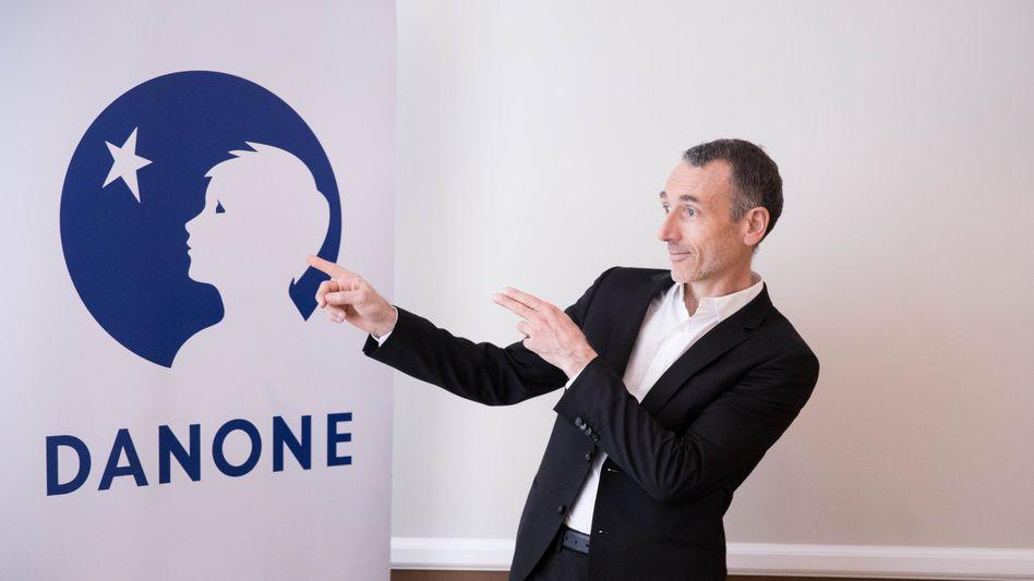 Will mehr als Shareholder Value: Danone-CEO Emmanuel Faber.
