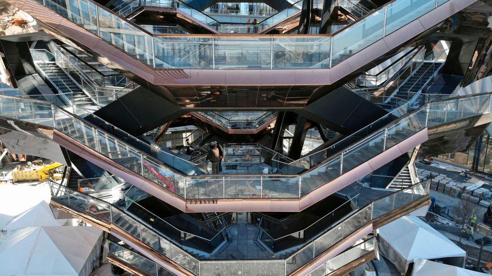Hudson Yards: Umstrittenes Luxus-Stadtviertel öffnet in New York