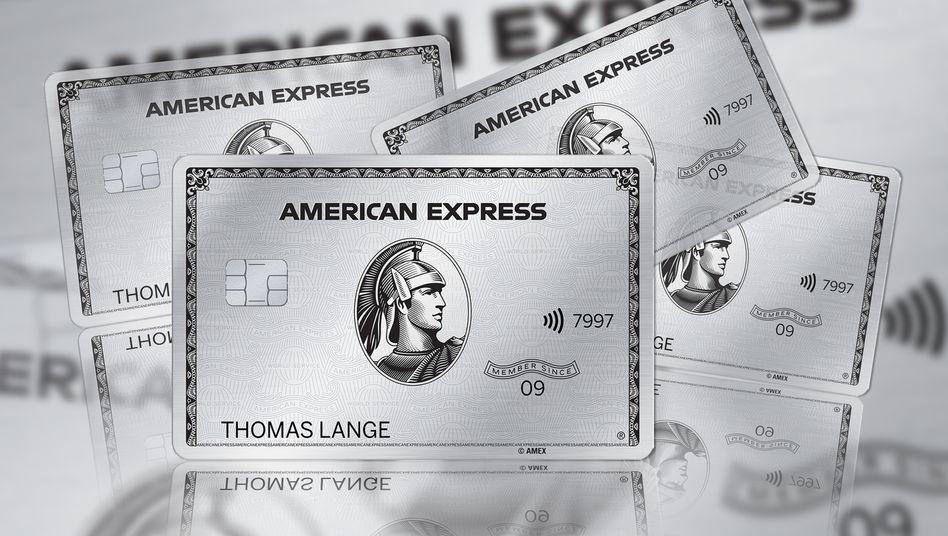 Die American Express Platinum-Card gibt es nun auch aus Metall (allerdings nicht aus Platin)