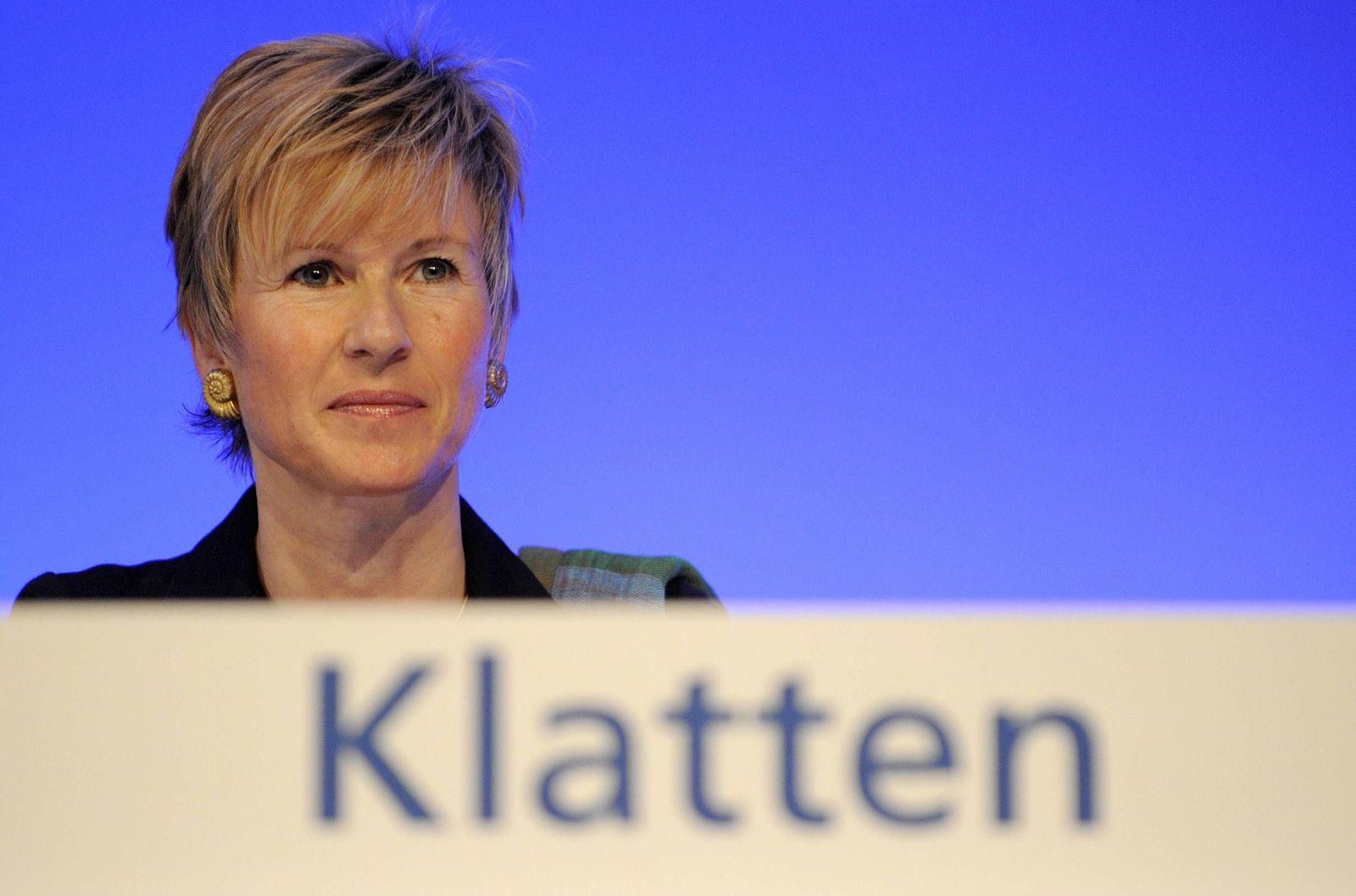 NICHT VERWENDEN Susanne Klatten