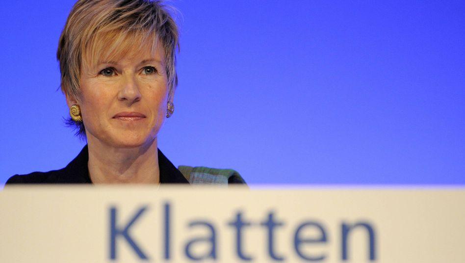 Sperrminorität, vielleicht bald Mehrheitsanteil: BMW- und SGL-Großaktionärin Klatten