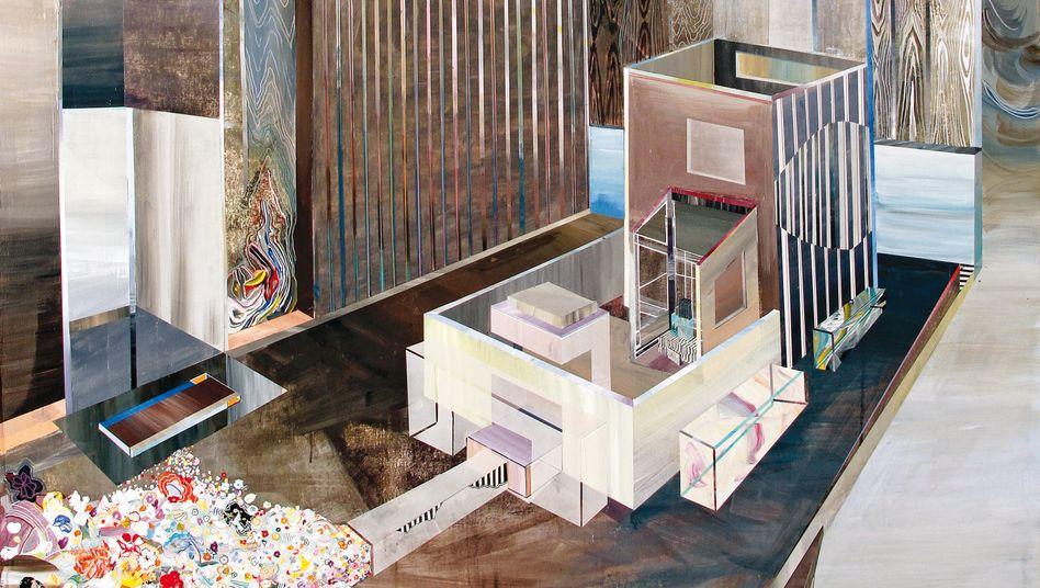 """Die Arbeit """"Undertable"""" des Malers Ricky Allman"""