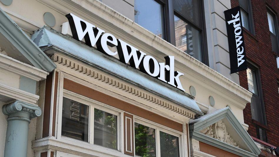WeWork-Niederlassung in New York: Der Bürovermieter steckt noch immer in Schwierigkeiten.