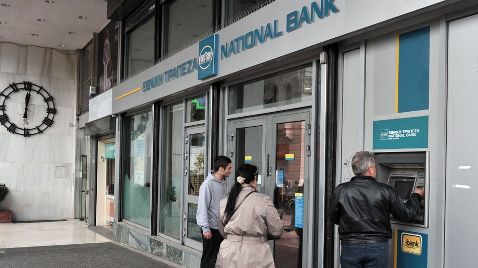 Entgeht Verstaatlichung: Die National Bank of Greece kann den erforderlichen Anteil zu ihrer Rekapitalisierung selbst auftreiben.