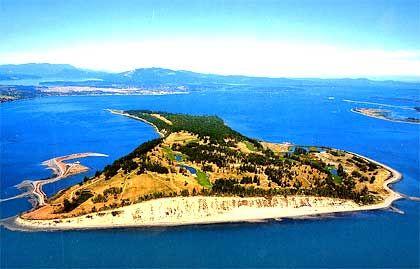 James Island, Britisch Kolumbien (Kanada), Größe: 3,1 Millionen Quadratmeter, Kaufpreis: 49 Millionen US-Dollar