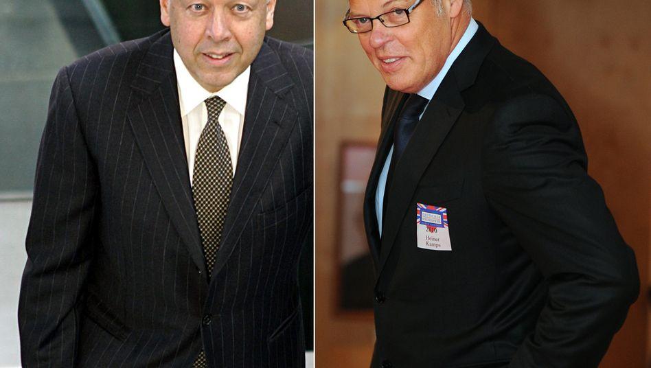 Wechsel bei Müller Milch: Molkereiunternehmer Theo Müller (l.) wird einen Nachfolger für Heiner Kamps finden müssen
