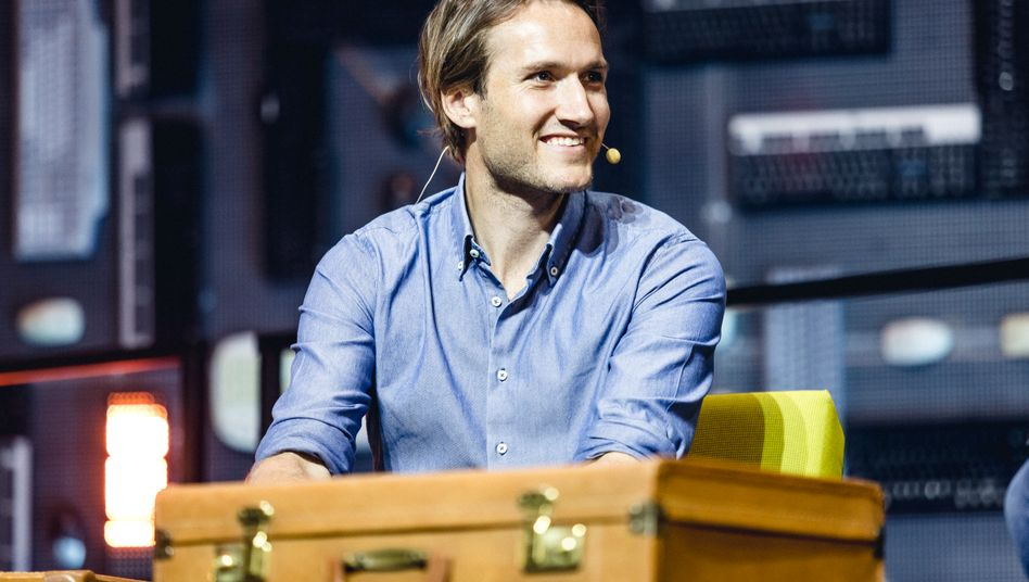 Niklas Östberg (38), Chef von Delivery Hero