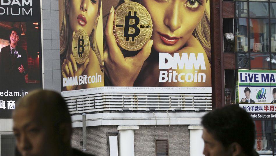 Bitcoin-Werbung in Japan: Die starken Kursschwankungen gehen weiter