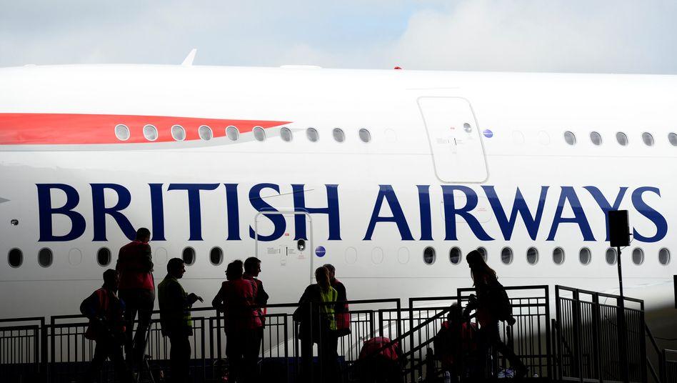 Flugzeug von British Airways
