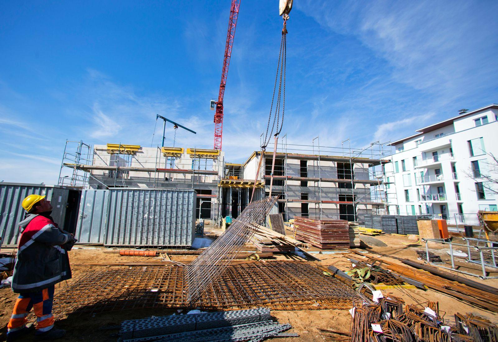 Baukredit / Bauen / Hausbau / Wohnungsbau