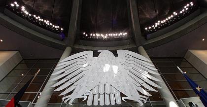 Symbol für den Staat: Der Bundesadler, ein Bild der Bundesrepublik, soll sich nach Abflauen der Bankenkrise aus den Finanzunternehmen zurückziehen, so der IIF. Das gleiche gelte für andere Länder