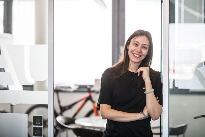 Konkurrenz belebt: KTM-(Fahrrad)-Geschäftsführerin Johanna Urkauf