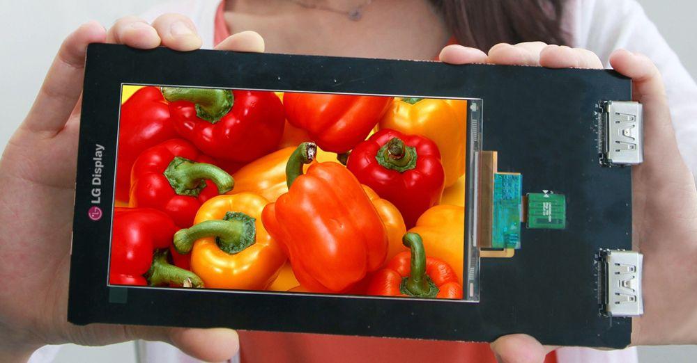 LG Quad HD LCD-Panel