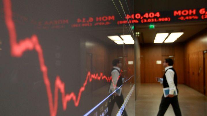 Crash an Athener Börse: Kaufe Apple, biete 18 mal Griechenland