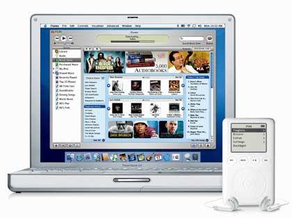 Beschert Apple prächtige Gewinne: Der iPod und der iTunes-Musicstore