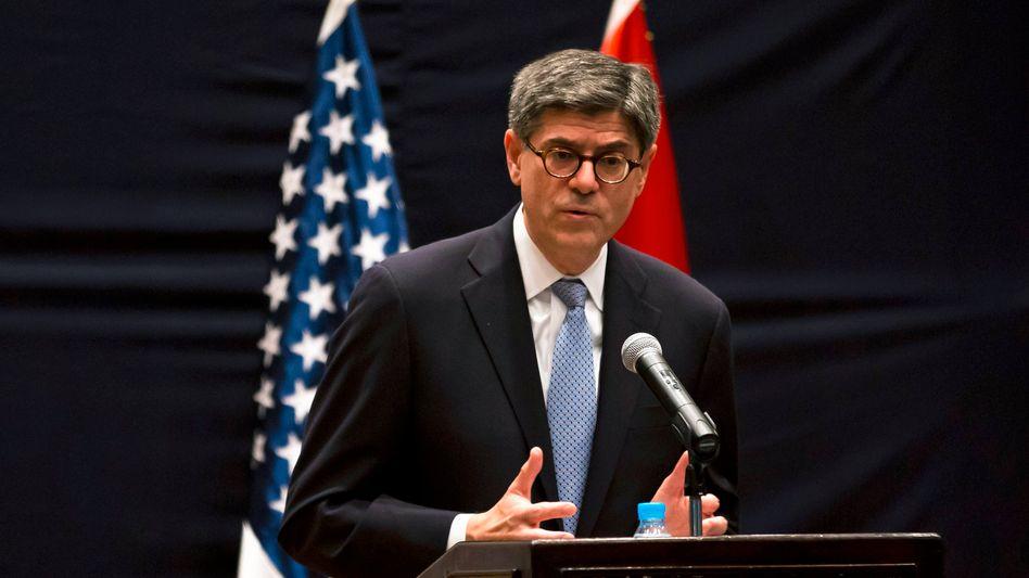 US-Finanzminister Jack Lew: Nach Frankreich fühlen sich auch die USA dazu berufen, sich in Deutschlands Haushaltspolitik einzumischen