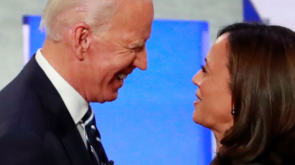 Gemeinsam gegen Trump: Joe Biden und Kamala Harris