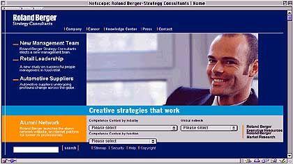 Kandidat 7: Roland Berger. Die Unternehmensberatung verschickte einen Rundbrief an viele große Unternehmen - auch an den Chef des größten Konkurrenten McKinsey.