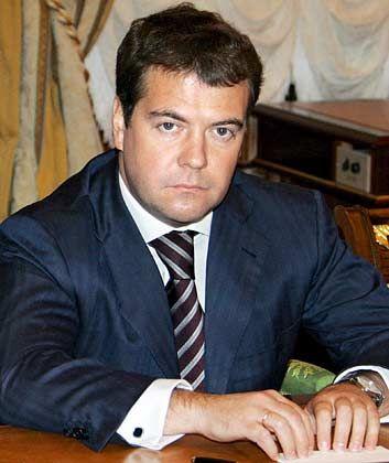 Putins Favorit: Dmitri Medvedev soll neuer russischer Präsident werden