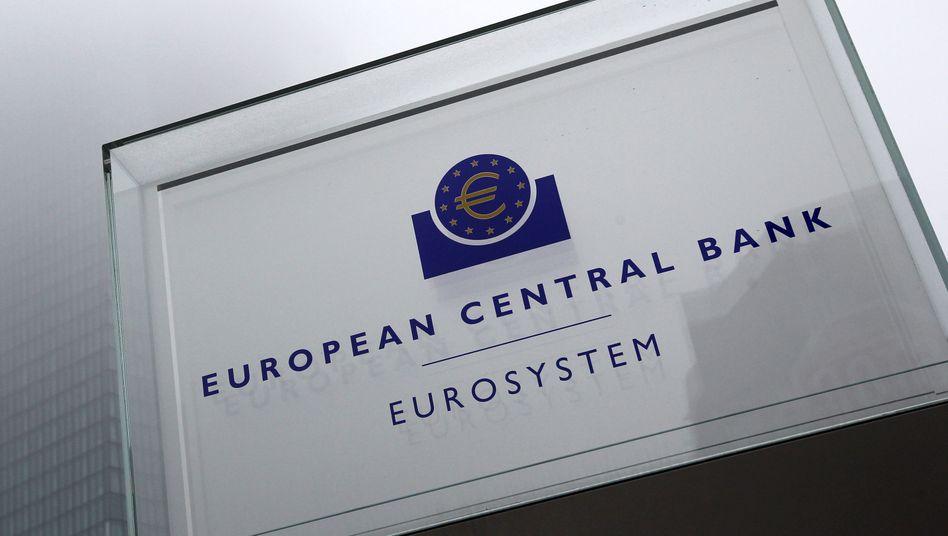 EZB-Zentrale in Frankfurt: Die Zentralbank will ihre Geldpolitik zügeln