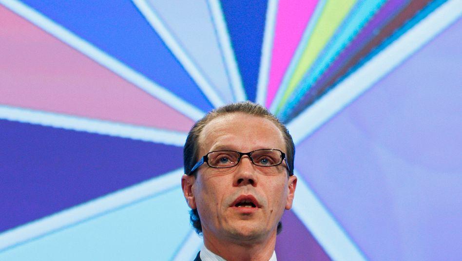 EU-Kommissar Algirdas Semeta: Will Finanztransaktionssteuer starten