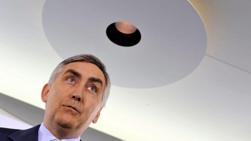 Auf zu neuen Zielen: Siemens-Chef Löscher will ein Rekordergebnis vorlegen