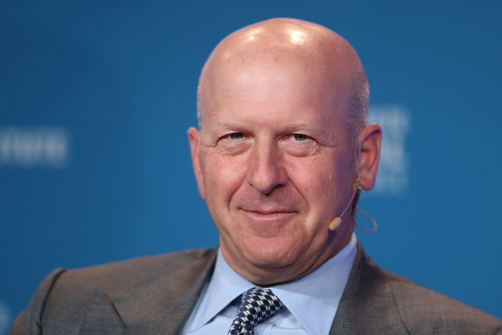 Goldman-Chef David Solomon