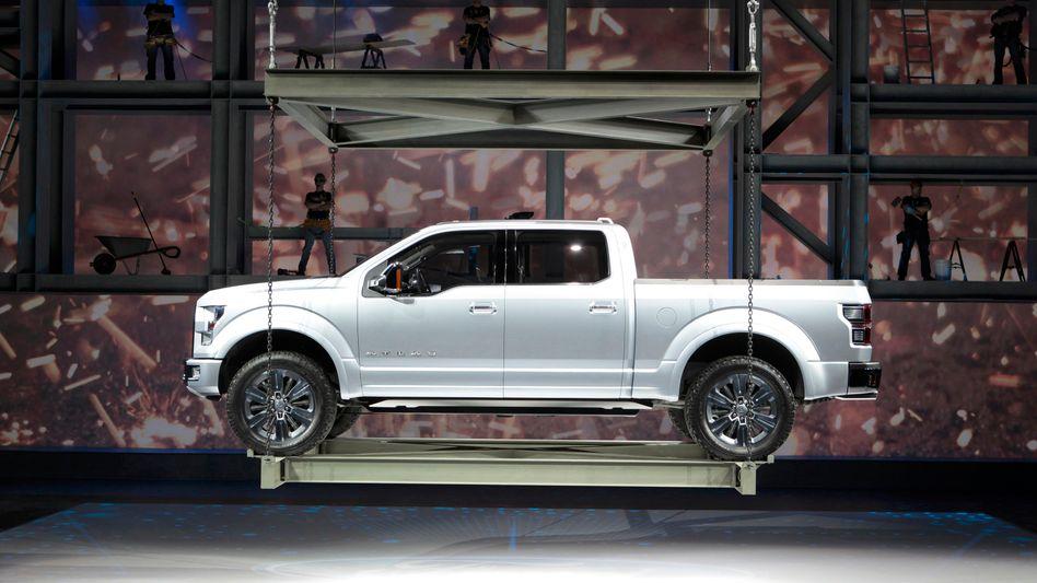 Schwere Maschinen gefragt: Präsentation des Ford Atlas auf der Detroit Motor Show