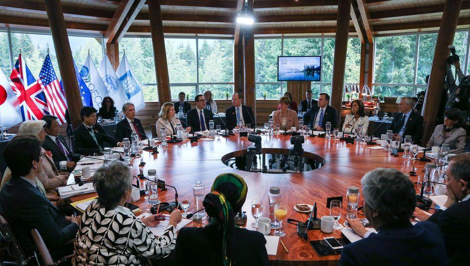 6 gegen 1: Das G7 Treffen im kanadischen Whistler