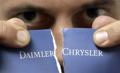 Trennung nach neun Jahren:Chrysler-Mehrheit geht an den Finanzinvestor Cerberus