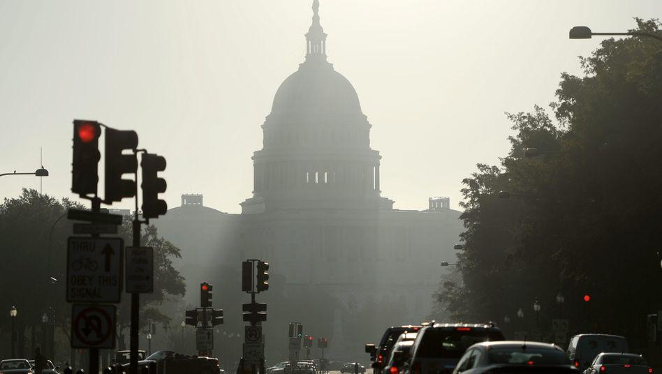 Kapitol in Washington: In den USA zeichnet sich eine Einigung im Haushaltsstreit ab