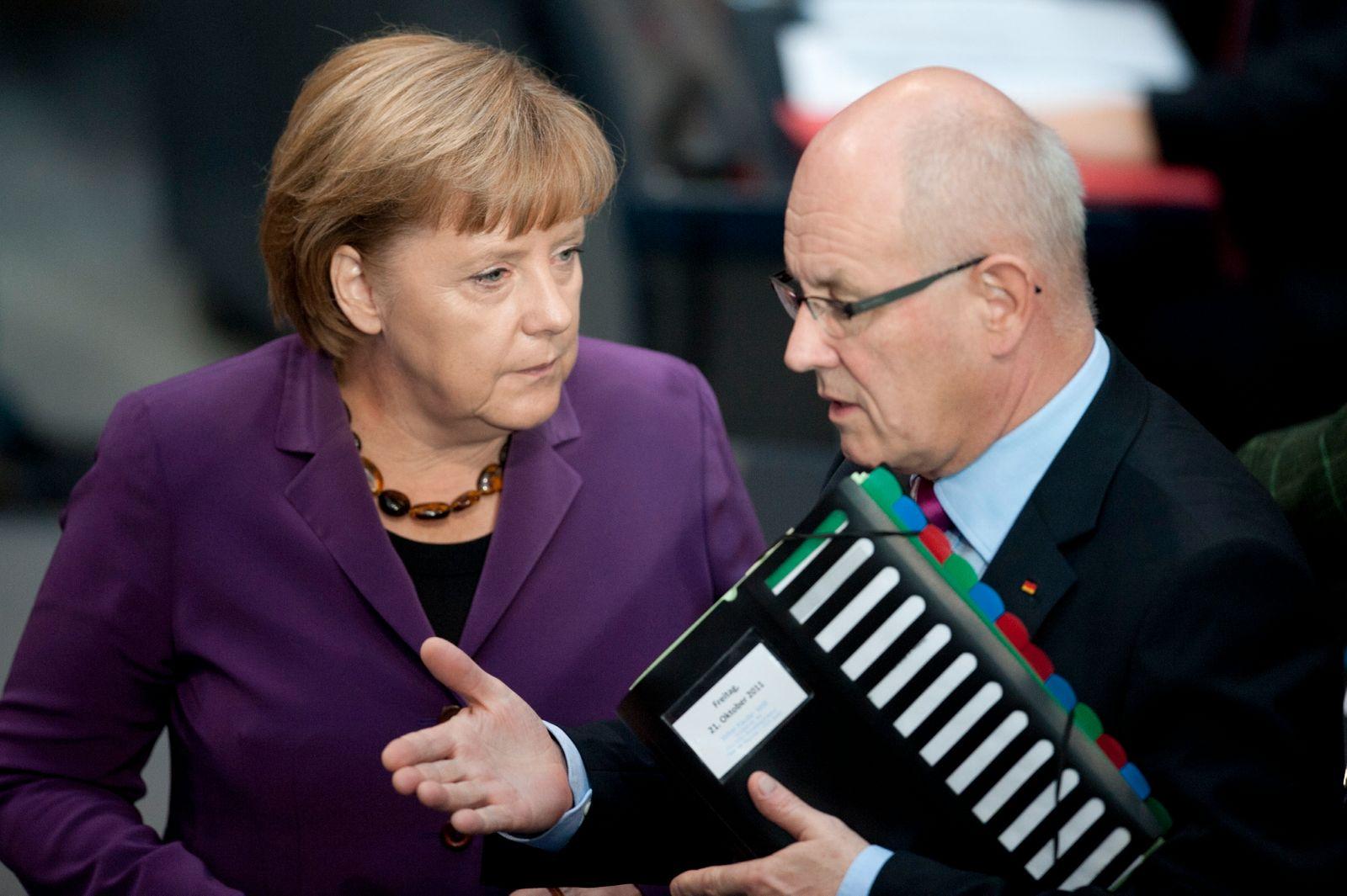 NICHT VERWENDEN Merkel / Kauder