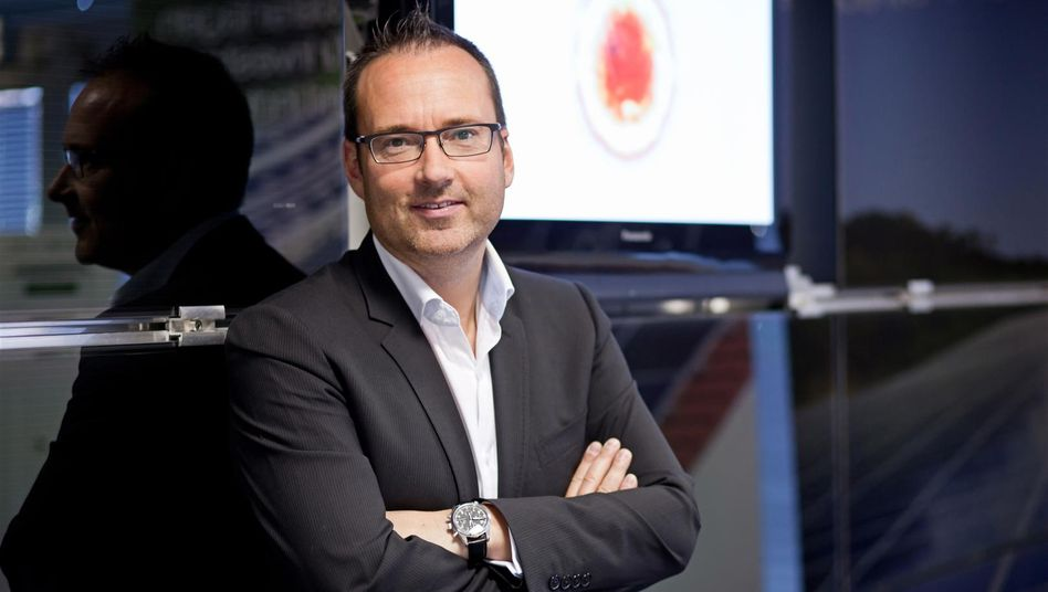 Er sieht in China die solare Zukunft: Stefan Riel, Vorstand der Wirsol Solar AG