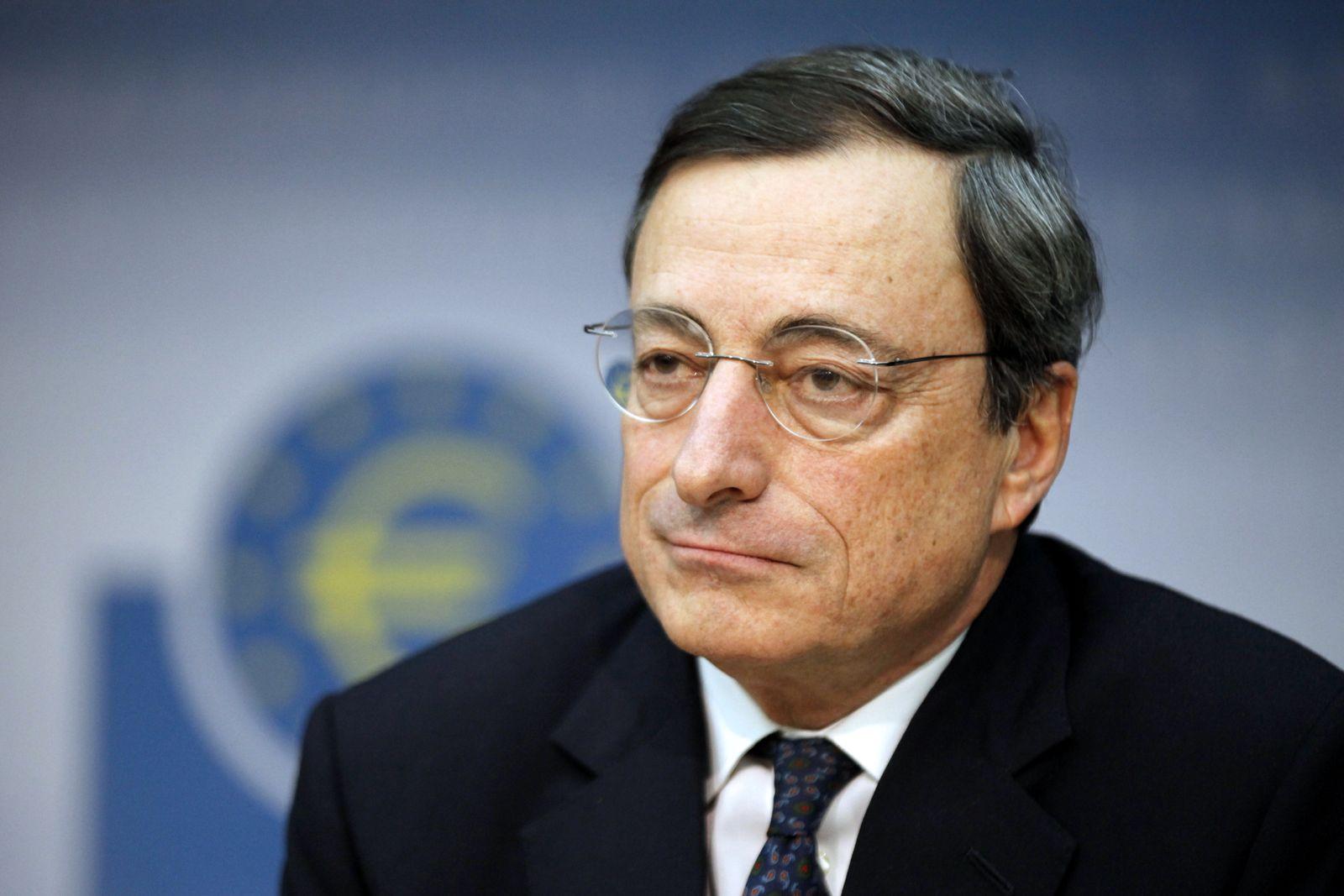 NICHT VERWENDEN EZB / Mario Draghi