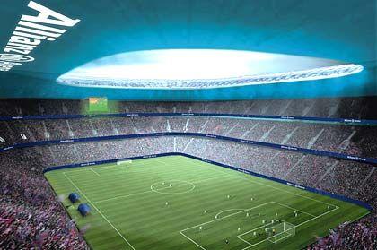 Objekt der Begierde: Der Stadion-Neubau in München