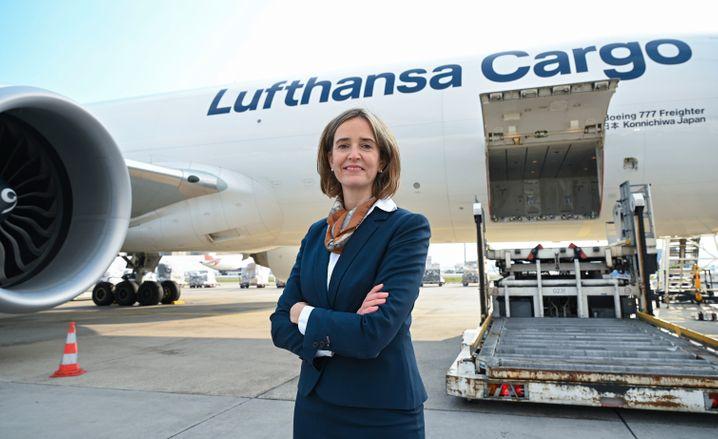 Star im Konzern: Lufthansa-Cargo-Chefin Dorothea von Boxberg