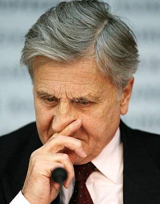 EZB-Präsident Jean-Claude Trichet: In kniffliger wirtschaftlicher Lage