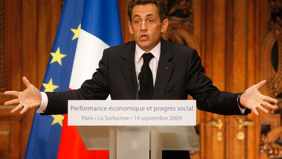 Ausdrucksstark: Frankreichs Staatspräsident Nicolas Sarkozy kann zumindest diese Eigenschaft nicht abgesprochen werden