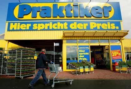 Praktiker spricht von Preisen: Einkaufstour noch nicht beendet