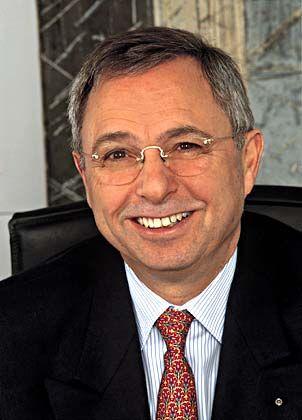 Hoffnungsvoll: Der neue Vorstandssprecher Lothar Stöckbauer glaubt an den Fortbestand des Unternehmens