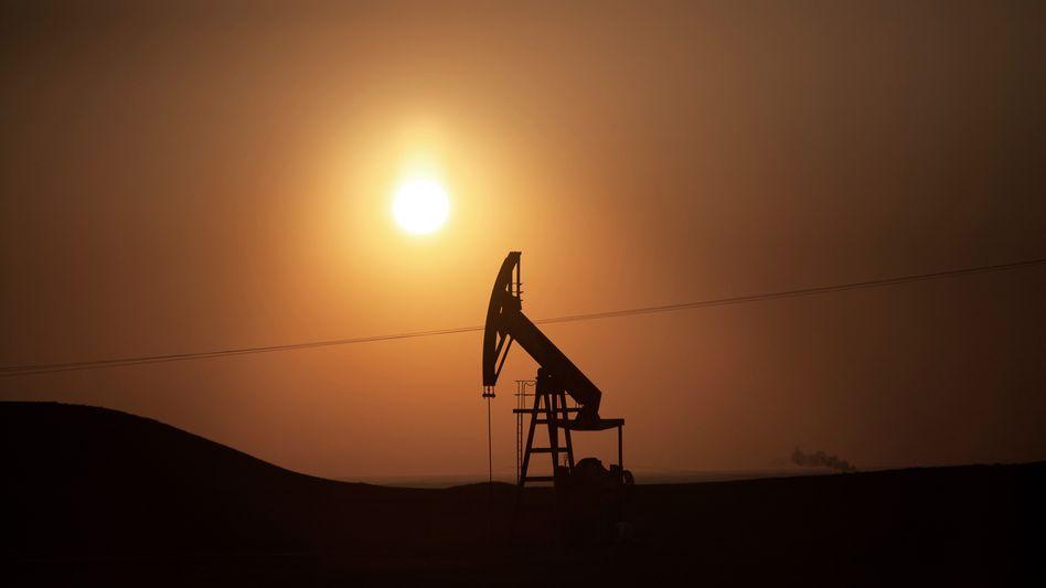 Ölpumpe in Syrien: An neuen Erkundungsprojekten wird gespart