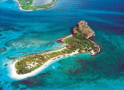 White Island, Grenada (Karibik), Größe: 40.000 Quadratmeter, Kaufpreis: 1,4 Millionen US-Dollar