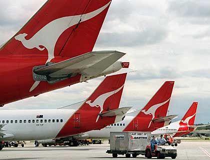 Die australische Airline Qantas: Die Fluggesellschaft landete auf dem zweiten Platz der Gesamtbesten