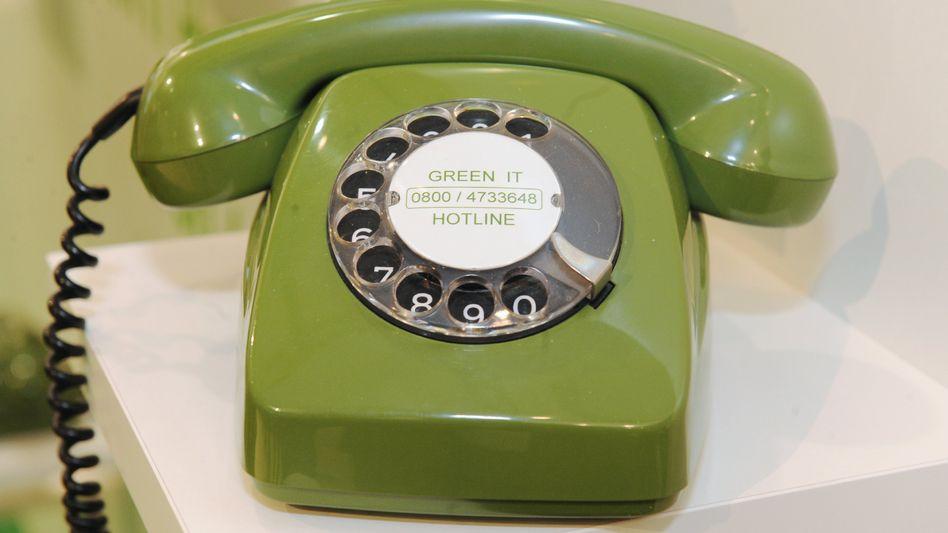 Nostalgie-Telefon: Die Telekom will bis 2018 die Netze in ganz Deutschland von ISDN oder alter analoger Technik auf IP-Telefonie umstellen